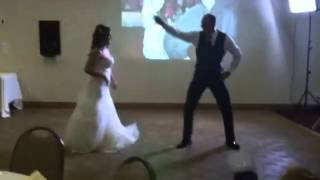 Tanna Blackburn and her father daughter dance