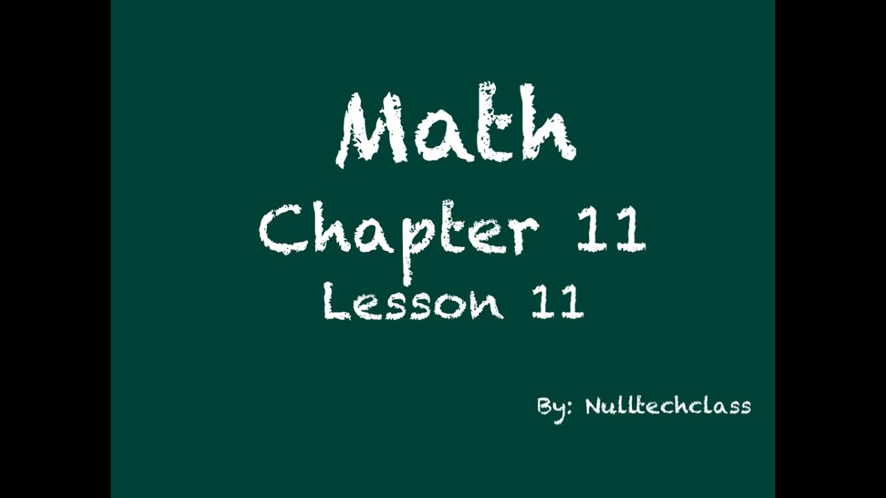 How To Find The Volume Go Math 1110 Updated