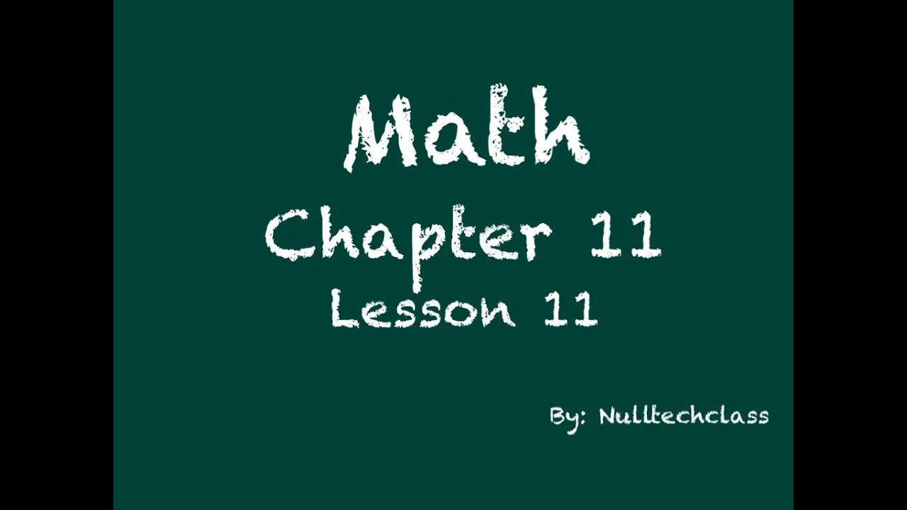 problem solving compare volumes lesson 11.11