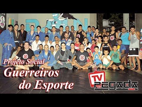 TV Pegada #0045 - Pegada no Projeto Social Guerreiros do Esporte, em Ubatuba, litoral norte de São Paulo.