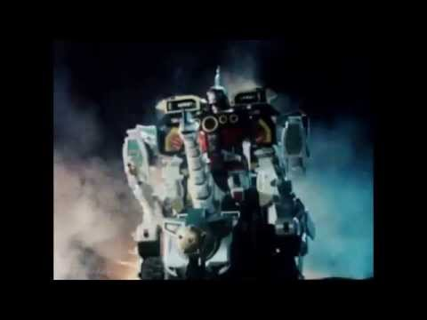All Power Ranger Ultrazords with Titanus (Zyuranger -- Mighty Morphin Season 3)