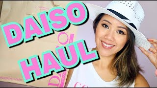 DAISO HAUL!  WHAT'S NEW AT DAISO! - Japanese Dollar Store