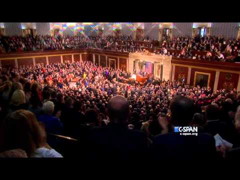 Pope Francis enters House Chamber (C-SPAN)