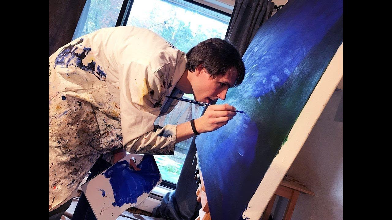 Blind Artist Breaks Down Barriers Where You Live YouTube - Blind artist