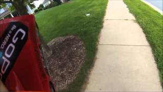 getting yelled at for drivng rc car
