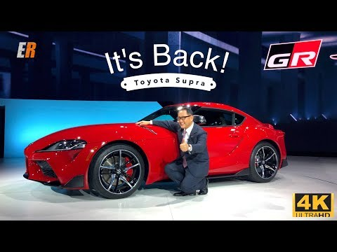 NEW - The TOYOTA SUPRA is BACK - FIRST LOOK!