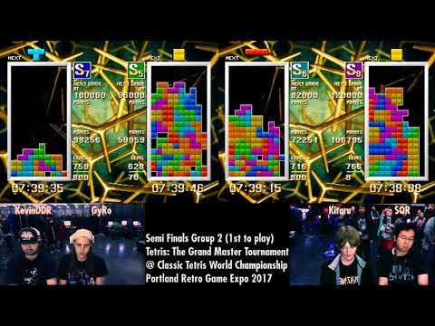 Round 1 CTWC Tetris Grandmaster Tournament 4-player Race
