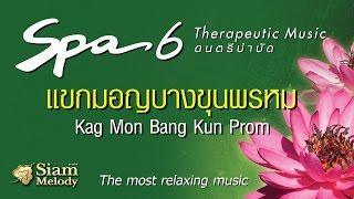 Spa Music 6 ดนตรีบำบัด เพลงสปา - แขกมอญบางขุนพรหม ►Official MUSIC◄