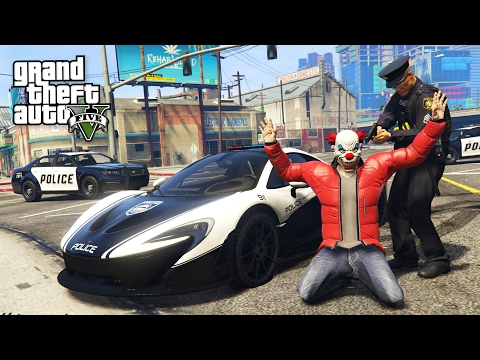 GTA 5 Mods - PLAY AS A COP MOD!! GTA 5 Police McLaren P1 LSPDFR Mod! (GTA 5 Mods Gameplay)