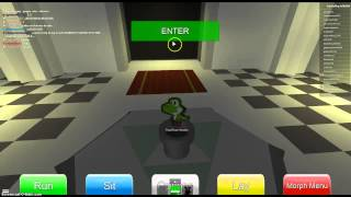 Roblox: Ultimate Crossover RPG: Button Puzzle