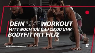 Fitness First Live Workout - BodyFit mit Filiz