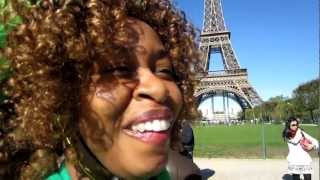 Be Romantic in Paris ... GloZell & SK  Is you okay Tour? in Paris