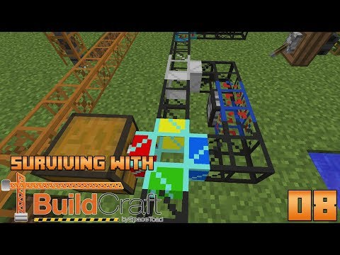 Surviving With BuildCraft 7.99 :: E08 - Lazuli & Daizulia Transport Pipes