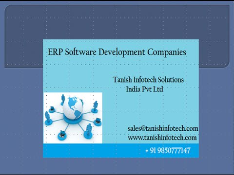Best ERP Manufacturing Company in Pune