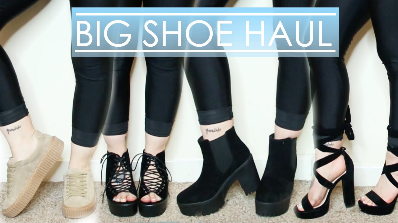 c477107308c BIG SHOE HAUL | Boohoo, Public Desire & more!