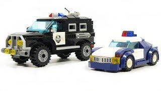 Enlighten brick 1901, 1110 racing police, SWAT SUV