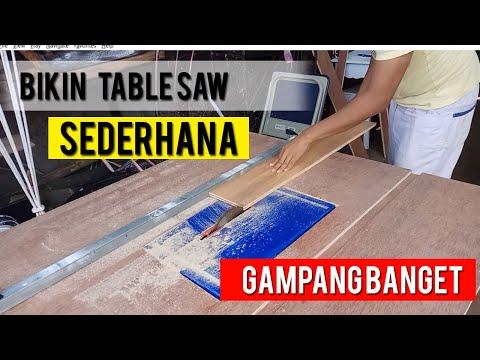 Membuat Table Saw Sederhana - REMAKE VERSION