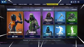 [FORTNITE] BOUTIQUE du 29 Janvier 2019 ! ITEM SHOP January 29 2019