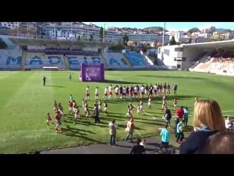 CS Marítimo x Braga - Entrada das equipas. Estreia nova bancada, Estádio do Marítimo