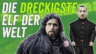 Die dreckigste Elf aller Zeiten: Game of Bones mit Vidal, Müller und mehr!