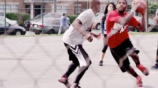 THINK YOU COULD PLAY AGAINST KYRIE IRVING? WATCH HIM PLAY AGAINST RANDOM PEOPLE, FANS(MUST WATCH)