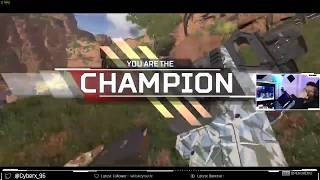 Full Game from Hacker's POV!  AimBot+Speed & Wall Hack  (APEX LEGENDS)