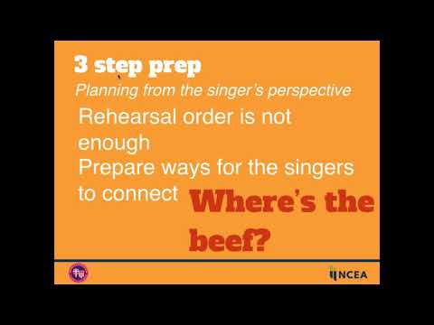 NCEA Engage! High Energy Choral Rehearsal Strategies 082516