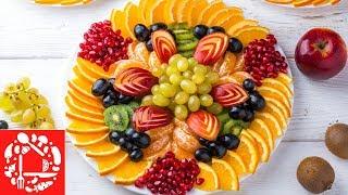 видео Овощи и фрукты на новогоднем столе