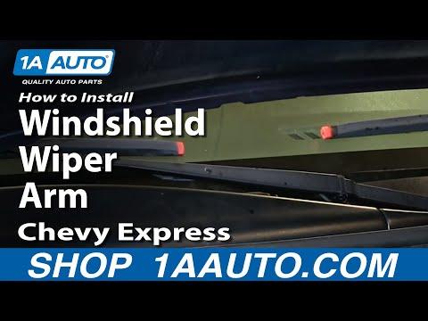 How to Replace Windshield Wiper Arm 96-14 GMC Savana