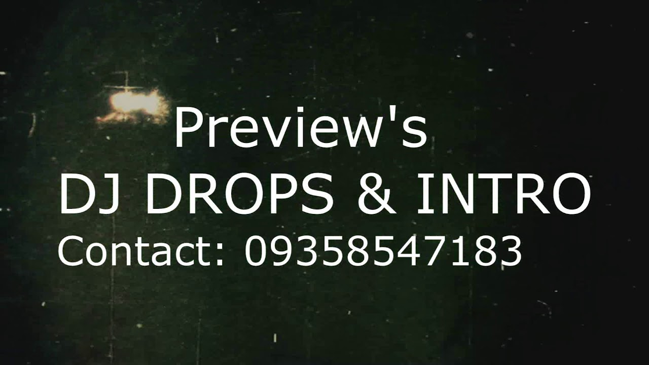 DJ DROPS & INTRO 2019
