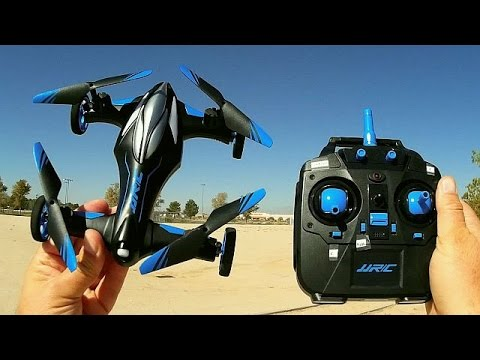 JJRC H23 Flying Car Drone Flight Test Review