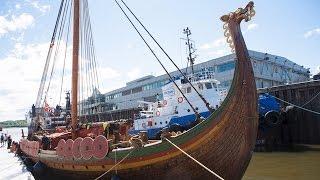 Un drakkar viking a Quebec!