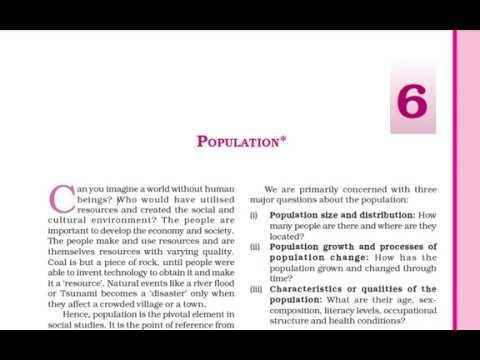 Class 9 Population Part 1 Hindi Explanation