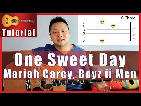 How To Play One Sweet Day On Guitar | Mariah Carey, Boyz Ii Men