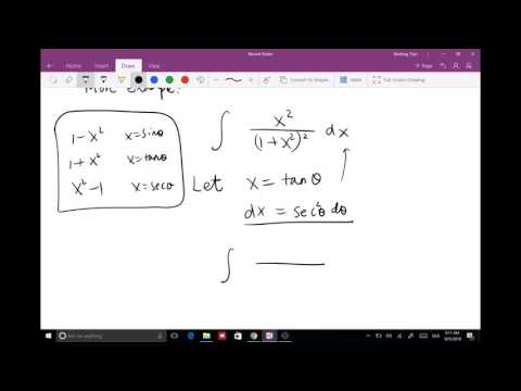 Trigonometric integral