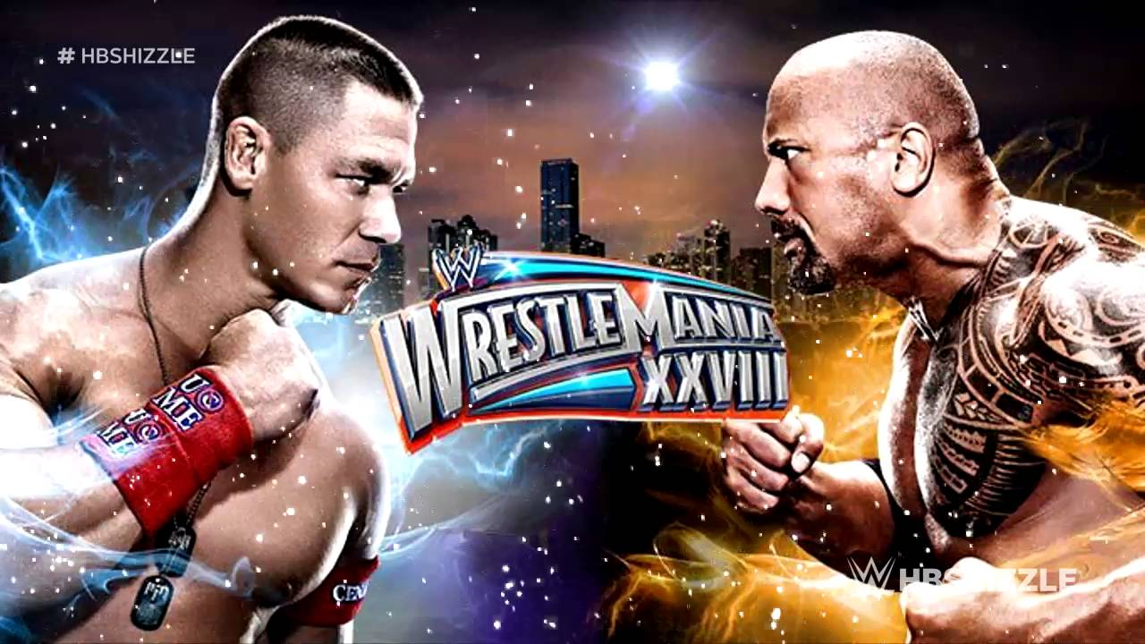 Wwe 2k16 the rock vs. John cena highlights! (wrestlemania 28.