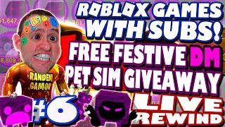 PET SIM GIVEAWAY 😎 ROBLOX GAMES WITH SUBS | Road to 3500 ► Roblox PRO PC 🔴 LIVE