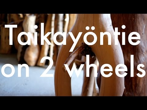 Taikayöntie on two wheels