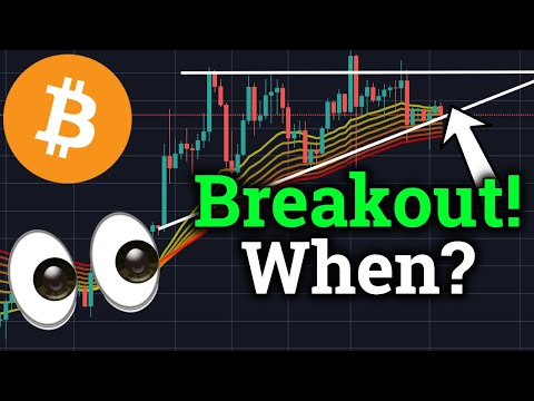 BITCOIN BREAKOUT SOON!! When Will It Happen?? (Cryptocurrency Trading BTC News Price Analysis)