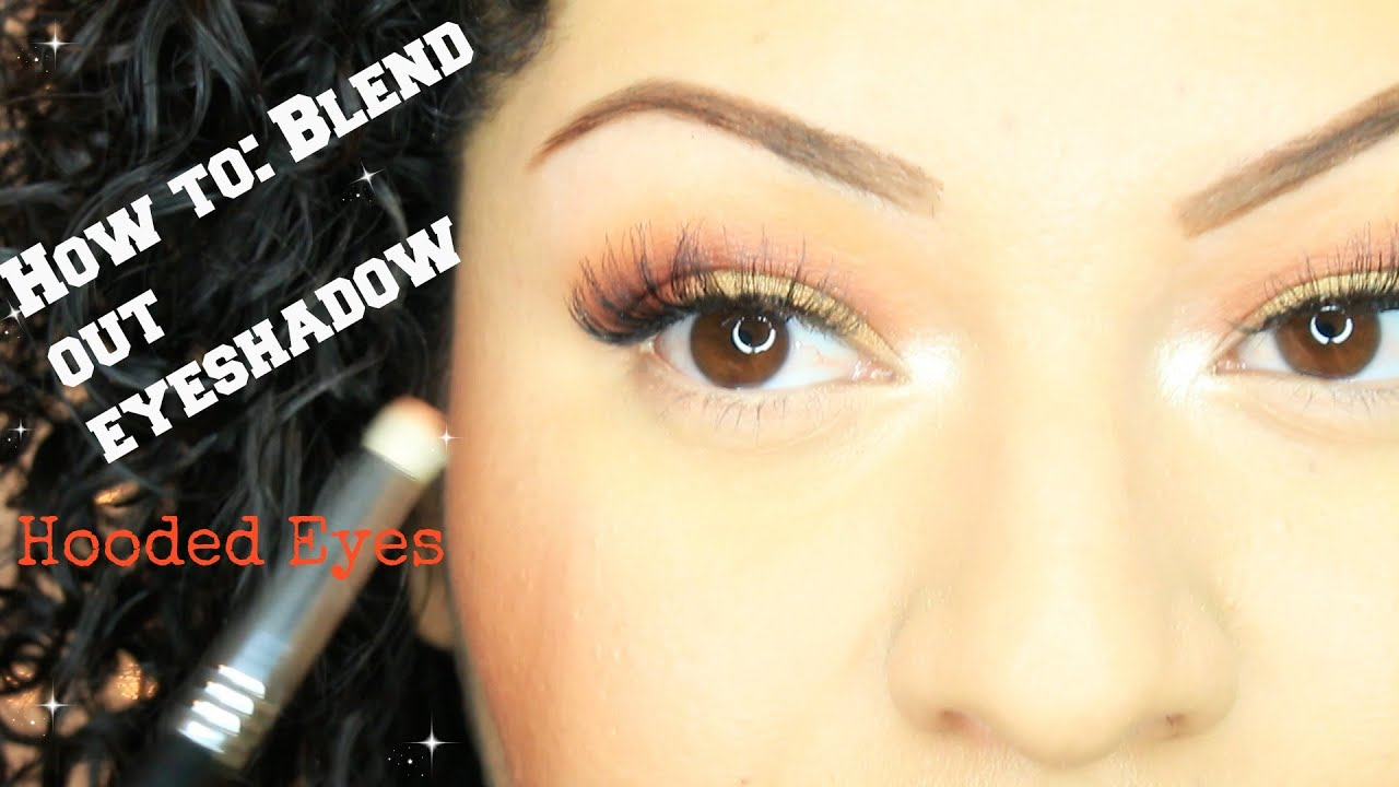 How To: Blend Out Eyeshadowhooded Eyes