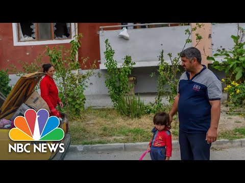 Thousands Left Homeless After Decades Long Armenia-Azerbaijan Conflict | NBC News NOW