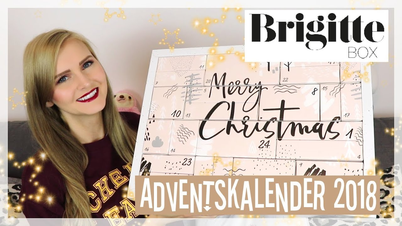 brigitte adventskalender unboxing