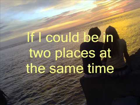 Let me be here with you tonight lyrics
