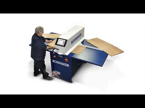 Box Making Machinery | Make Packaging Boxes On Demand With BCS