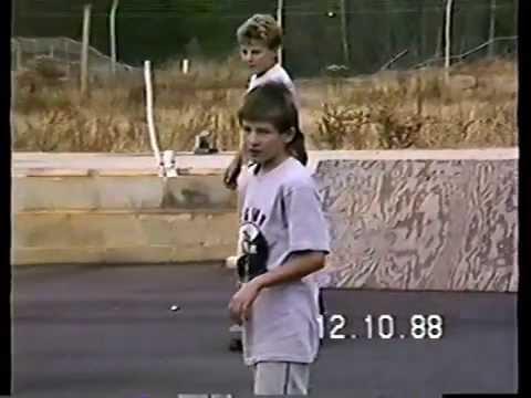 Skateboarding 1988