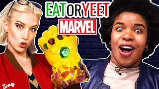 We Ate The Infinity Gauntlet! (Eat It or Yeet It: Marvel Edition)