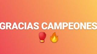 🥊 GRACIAS A TODOS POR EL APOYO ÉSTE 2019 - Campeones Del Pueblo - Siempre Humilde - CDP