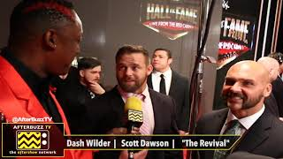 Dash Wilder and Scott Dawson Interview- WWE Hall of Fame 2019