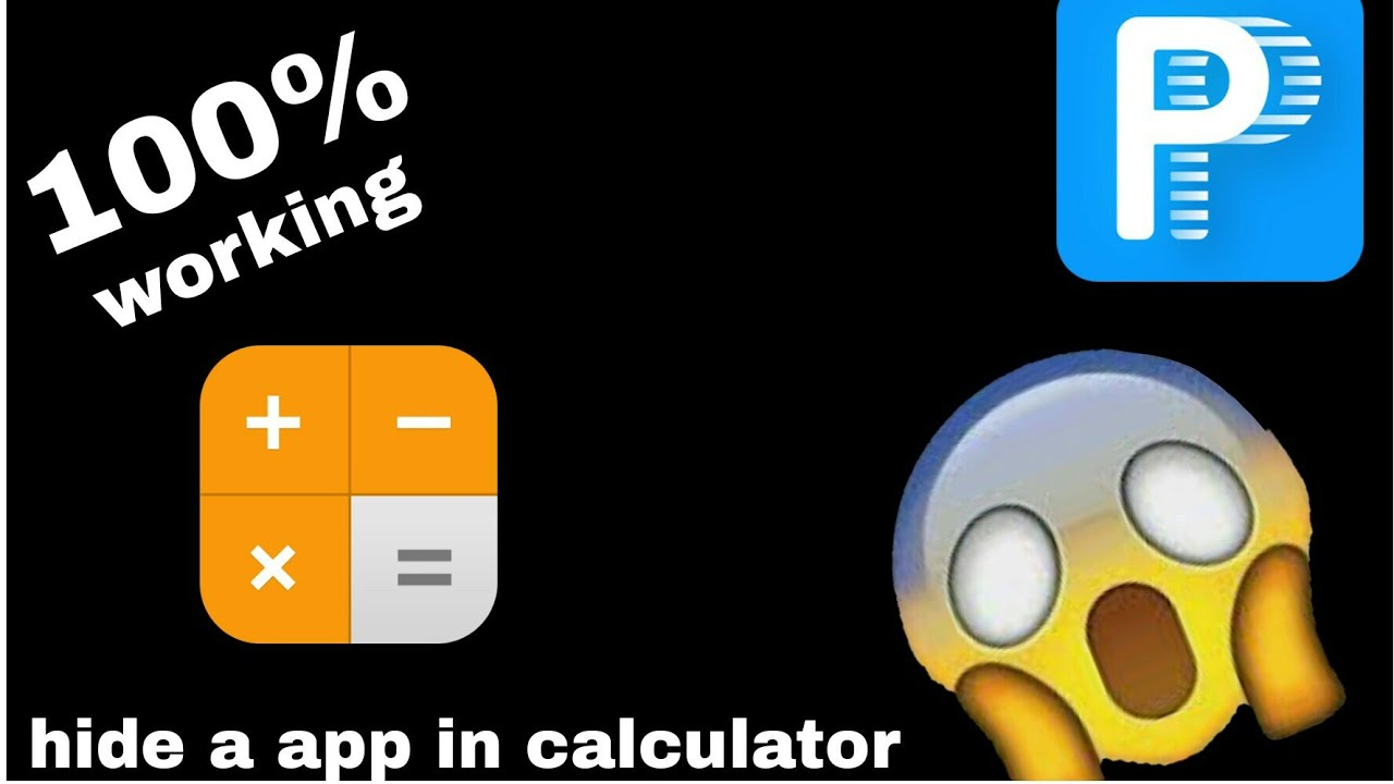 Hide your android app in calculator without root your smartphone