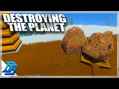 Pollution Problem begins....Demo Destroys the Planet! - ECO Global Survival - Pt.2